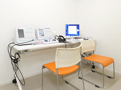【画像】聴力検査室